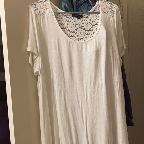 Ambiance Floral Lace Shirt